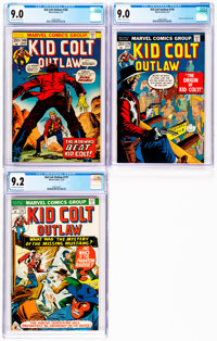 Kid Colt Outlaw #168, 170, and 177 CGC-Graded Group (Marvel, 1973).... (Total: 3 Items)