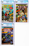 Bronze Age (1970-1979):Western, Kid Colt/Western Gunfighters CGC-Graded Group of 3 (Marvel, 1971-74).... (Total: 3 Items)