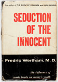 Golden Age (1938-1955):Miscellaneous, Seduction of the Innocent Second Printing (Rinehart, 1954)....