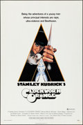 "Movie Posters:Science Fiction, A Clockwork Orange (Warner Brothers, 1971). Folded, Very Fine-. OneSheet (27"" X 41""). X-Rated Style, Philip Castle Artwork...."