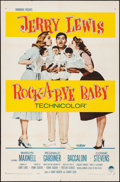 """Movie Posters:Comedy, Rock-a-Bye Baby (Paramount, 1958). Folded, Very Fine-. One Sheet(27"""" X 41""""). Comedy.. ..."""