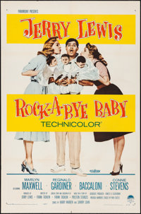 "Rock-a-Bye Baby (Paramount, 1958). Folded, Very Fine-. One Sheet (27"" X 41""). Comedy"