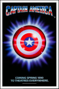 """Movie Posters:Action, Captain America (Columbia/Tristar, 1991). Flat Folded, Overall: Very Fine-. One Sheets (93) Identical (27"""" X 41"""") SS Advance... (Total: 93 Items)"""