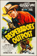 """Movie Posters:Western, Desperadoes' Outpost (Republic, 1952). Folded, Very Fine-. One Sheets (5) Identical (27"""" X 41""""). Western.. ... (Total: 5 Items)"""