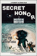 """Movie Posters:Drama, Secret Honor (Cinecom, 1984). Rolled, Very Fine. One Sheets (55)Identical (27"""" X 41"""") Albrecht Artwork. Drama.. ... (Total: 55Items)"""