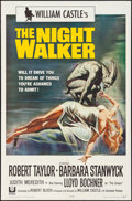 "Movie Posters:Horror, The Night Walker (Universal, 1964). Folded, Very Fine. One Sheet (27"" X 41""). Reynold Brown Artwork. Horror.. ..."