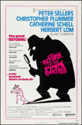 """Movie Posters:Comedy, The Return of the Pink Panther & Other Lot (United Artists,1975). Folded, Very Fine. One Sheets (2) (27"""" X 41"""") Style A. Co...(Total: 2 Items)"""
