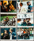 """Movie Posters:Drama, Easy Rider (Columbia, 1969). Fine/Very Fine. Color Photos (6) (8"""" X10). Drama.. ... (Total: 6 Items)"""