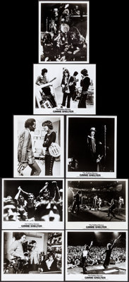 "Gimme Shelter (Cinema 5, 1970). Overall: Very Fine+. Photos (15) (8"" X 10""). Rock and Roll. ... (Total: 15 Ite..."