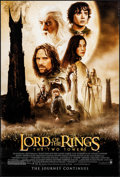 "Movie Posters:Fantasy, The Lord of the Rings: The Two Towers & Other Lot (New Line,2002). Rolled & Folded, Very Fine-. One Sheet (27"" X 40"") &Int... (Total: 2 Items)"