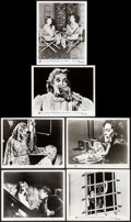 "Movie Posters:Horror, What Ever Happened to Baby Jane? (Warner Brothers, 1962). Fine/Very Fine. Photos (11) & Behind the Scenes Photo (8"" X 10""). ... (Total: 12 Items)"