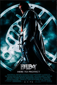 """Hellboy & Other Lot (Columbia, 2004). Rolled, Very Fine-. One Sheets (2) (26.75"""" X 39.75"""" & 27"""" X..."""