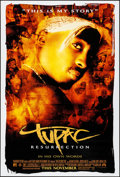"""Movie Posters:Documentary, Tupac: Resurrection & Other Lot (Paramount, 2003). Rolled, Very Fine+. One Sheets (2) (27"""" X 40"""") DS Advance. Documentary.. ... (Total: 2 Items)"""