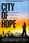 """Movie Posters:Drama, City of Hope (Samuel Goldwyn, 1991). Rolled, Very Fine-. One Sheets(2) (27"""" X 41"""") 2 Styles. Drama.. ... (Total: 2 Items)"""