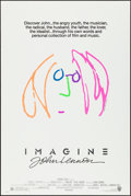 """Movie Posters:Rock and Roll, Imagine: John Lennon (Warner Brothers, 1988). Rolled, Very Fine.One Sheet (27"""" X 41""""). John Lennon Artwork. Rock and Roll...."""