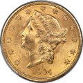 Liberty Double Eagles, 1904 $20 MS65+ PCGS....