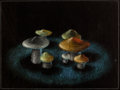 Animation Art:Concept Art, Fantasia Mushroom Dancers Concept Art (Walt Disney,1940)....