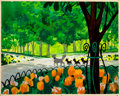 Animation Art:Painted cel background, The Aristocats Duchess and Kittens Background ColorKey/Concept Painting (Walt Disney, 1970)....