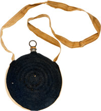 Navy Blue Civil War Canteen