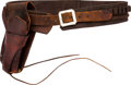 Arms Accessories:Holsters, Vintage S.D. Myres Leather Gun Belt and Holster.. ...