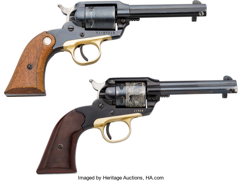 Lot of Two Ruger Bearcat Single Action Revolvers     (Total: 2 | Lot