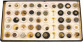 Militaria:Insignia, Texas Buttons and More: Extensive Collection....