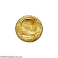 Commemorative Gold: , 1922 G$1 Grant with Star MS67 PCGS....