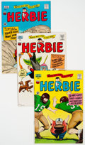 Silver Age (1956-1969):Humor, Herbie Group of 9 (ACG, 1965-66) Condition: Average VF.... (Total: 9 Comic Books)