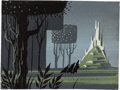 Animation Art:Concept Art, Eyvind Earle Sleeping Beauty Concept Painting (Walt Disney, 1959)....