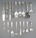 Silver Flatware, American, A Twenty-Piece Group of Schofield Silver Flatware Serving Pieces,Baltimore, Maryland, early 20th century. Marks to bacon fo...(Total: 20 Items)