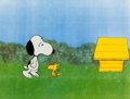 Animation Art:Production Cel, Peanuts Snoopy Come Home Woodstock and Snoopy ProductionCels (Bill Melendez, 1972)....