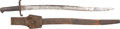 Edged Weapons:Bayonets, Possibly Confederate Pattern 1856 Enfield Sword Bayonet Complete with Scabbard and Leather Frog.. ... (Total: 0 Items)