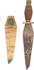 Edged Weapons:Daggers, Interesting Primitive Knife....