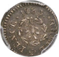 Colonials, 1783 3PENCE Chalmers Threepence AU53+ PCGS. CAC. Breen-1018,W-1760, R.5....