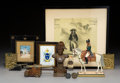 Collectible, A Group of Various Napoleonic Articles, 19th - 20th century. 18-7/8 x 5-1/4 x 5-1/4 inches (47.9 x 13.3 x 13.3 cm) (tallest,... (Total: 12 Items)