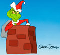 Animation Art:Presentation Cel, Dr. Seuss' How The Grinch Stole Christmas the Grinch MuseumExhibition 1 of 1 Cel (MGM, 2010)....