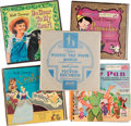 Memorabilia:Disney, Disney 45 RPM Record Sets Group of 5 (Walt Disney, c. 1950s)....(Total: 5 Items)