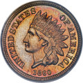 Proof Indian Cents, 1860 1C PR65 PCGS. CAC. Snow PR-3....