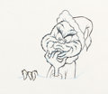 Animation Art:Production Drawing, Dr. Seuss' How the Grinch Stole Christmas The GrinchAnimation Drawing (MGM 1966). ...