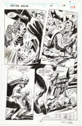 Original Comic Art:Panel Pages, Gene Colan and Al Williamson Iron Man Annual #15 Story Page 17 Original Art (Marvel, 1994)....