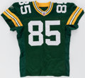 Football Collectibles:Uniforms, 2007 Greg Jennings Game Issued Green Bay Packers Jersey. ...