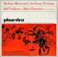 "Movie Posters:Drama, Phaedra (Lopert, 1962). Folded, Fine/Very Fine. Six Sheet (80"" X79""). Drama.. ..."
