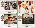 Movie Posters:Drama, Papillon & Other Lot (Allied Artists/Columbia, 1973). Overall:Very Fine-. International Lobby Card, Lobby Cards (3) ...