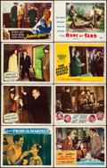 """Movie Posters:War, Pride of the Marines & Other Lot (Warner Brothers, 1945). Overall: Fine/Very Fine. Lobby Cards (22) (11"""" X 14"""") & Half Sheet... (Total: 24 Items)"""
