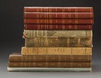 A Group of Ten Architecture and Decorative Arts Books 18-1/2 x 14-1/2 x 1 inches (47.0 x 36.8 x 2.5 cm)