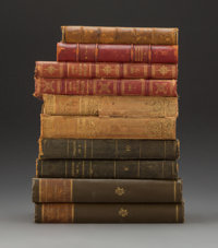 A Group of Ninety-Seven French History Books, 19th century 13-7/8 x 10-1/2 x 1-3/4 inches (35.2 x 26.7 x 4.4 cm) (