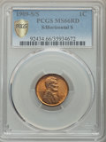 1909-S/S 1C S Over Horizontal S, FS-1502, MS66 Red PCGS