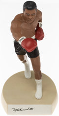 Boxing Collectibles:Autographs, Muhammad Ali Signed Salvino Statue...