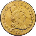 1795 $10 13 Leaves, BD-1, High R.3 -- Repaired -- NGC Details. VF