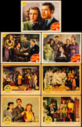 """Movie Posters:Comedy, My Sister Eileen & Other Lot (Columbia, 1942). Overall: VeryFine-. Lobby Cards (13) (11"""" X 14""""). Comedy.. ... (Total: 13 Items)"""
